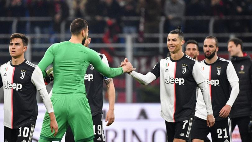 Semifinale Coppa Italia Juve-Milan rinviata a data da destinarsi: è ufficiale