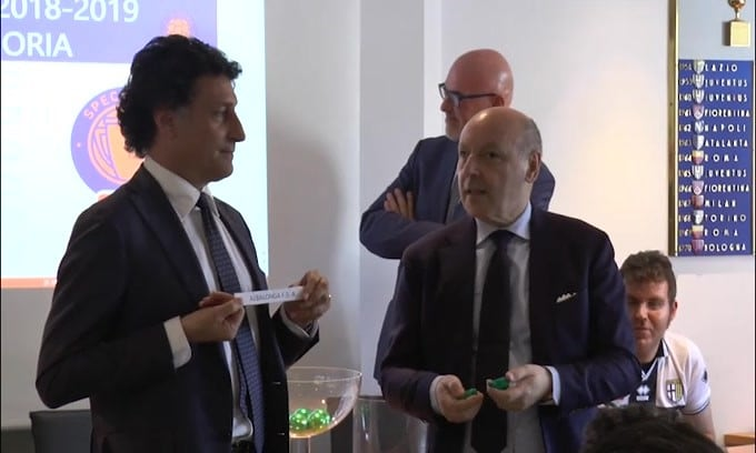 """L'Inter e Marotta insieme: """"Prima Inter-Samp e poi la Juve"""""""