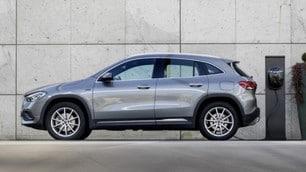 Mercedes 250e CLA e GLA: le immagini