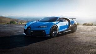Bugatti Chiron Pur Sport: le immagini