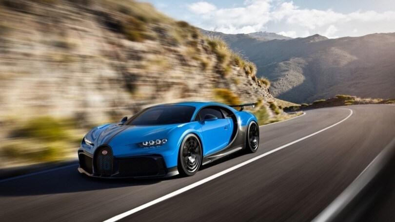 Bugatti Chiron Pur Sport, estrema e sportiva