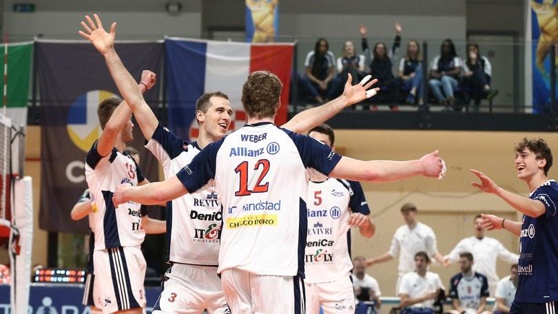 Challenge Cup: Milano vince il primo round in Estonia