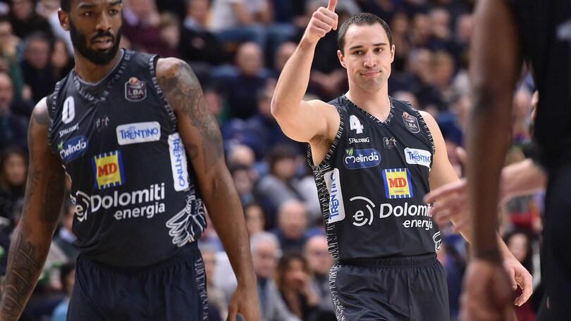 Eurocup, Trento perde ancora. Partizan si impone in casa 91-75