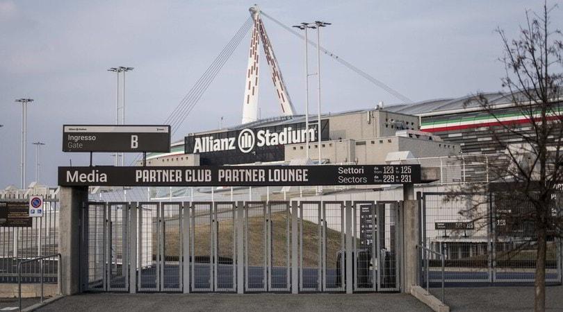 Juve-Milan rinviata, tre tonnellate di cibo per lo Stadium in beneficenza