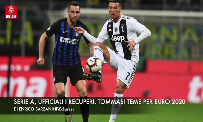 """Serie A, ufficiali i recuperi. Tommasi: """"Considerare il rinvio di Euro 2020"""""""