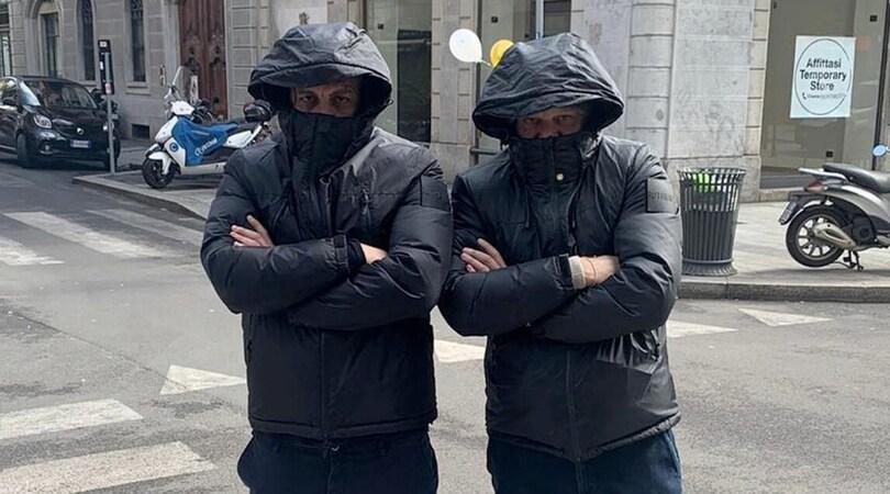 Coronavirus, Vieri come un ninja nella Milano deserta