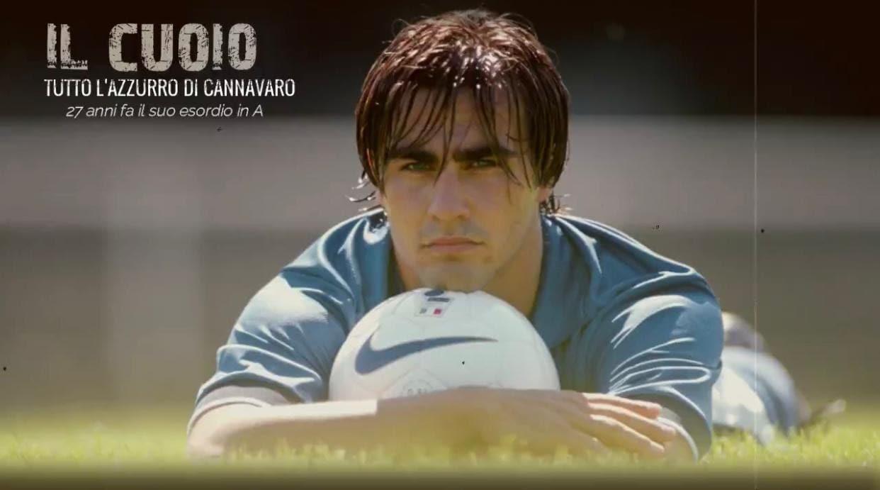 Tutto l'azzurro di Cannavaro