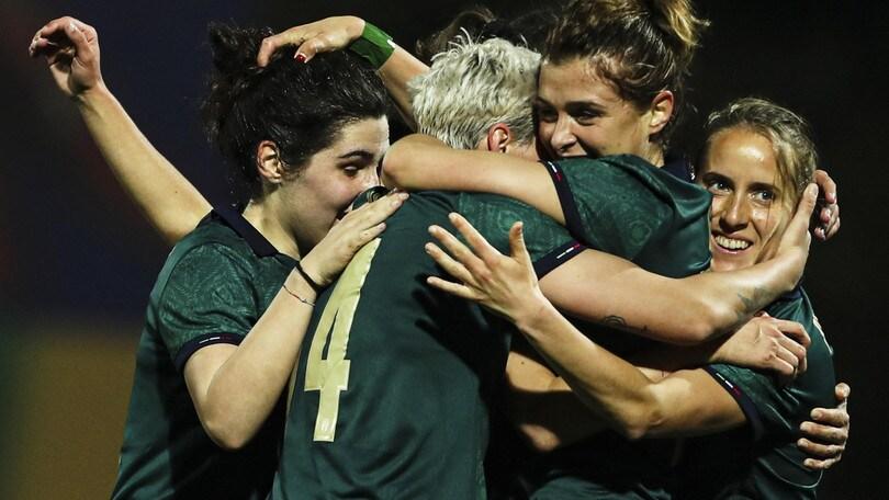 L'Italia schianta la Nuova Zelanda e centra la finale di Algarve Cup