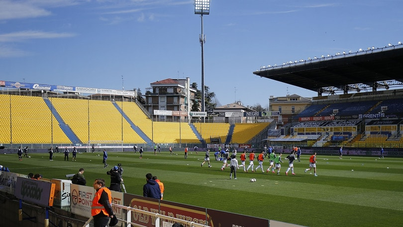 Parma, allenamenti collettivi con il nuovo protocollo