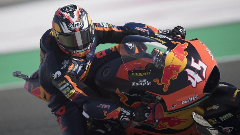 Moto2, Nagashima trionfa in Qatar: