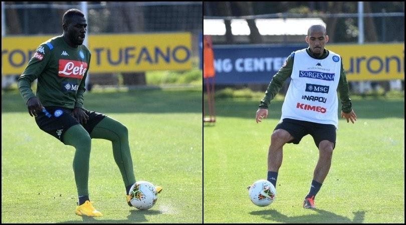Allan sfoggia il nuovo look. Gattuso ritrova Koulibaly