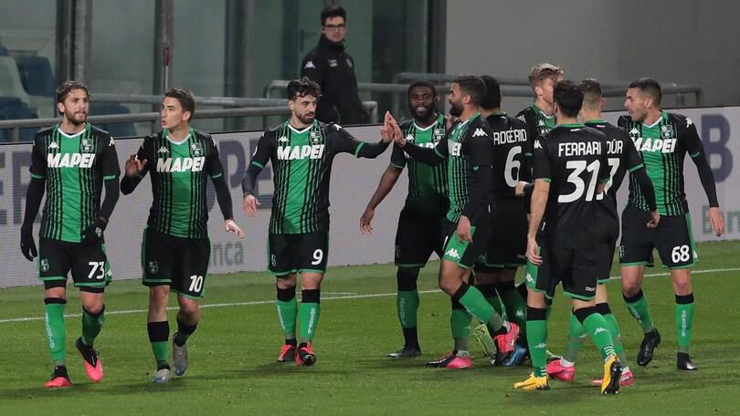 Sassuolo-Brescia 3-0: Caputo show, altra sconfitta per Balotelli