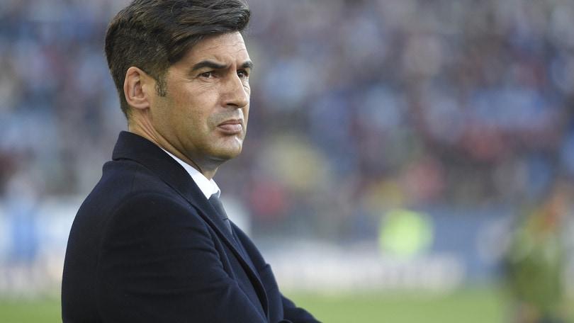 Roma, Fonseca non pensa allo stop:
