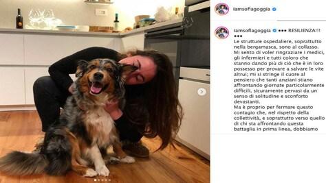 Coronavirus, Goggia su Instagram: