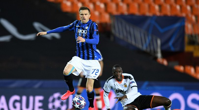 Valencia-Atalanta 3-4, il tabellino