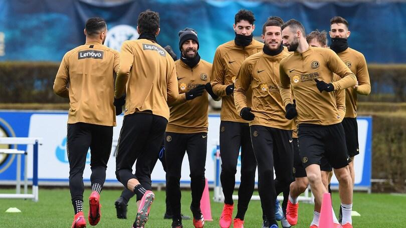 Coronavirus, l'Inter ad Appiano in attesa di decisioni dell'Uefa