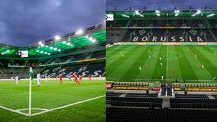 Monchengladbach-Colonia, la prima a porte chiuse in Bundesliga