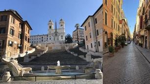Roma è deserta, ecco gli effetti del Dpcm