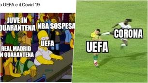 Emergenza Coronavirus, la Uefa non ferma il calcio: social scatenati