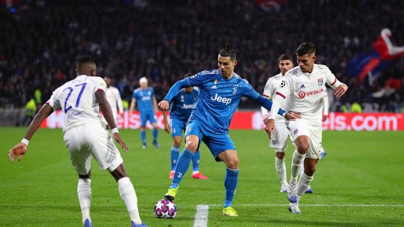 Ufficiale: rinviate Juve-Lione e Manchester City-Real Madrid