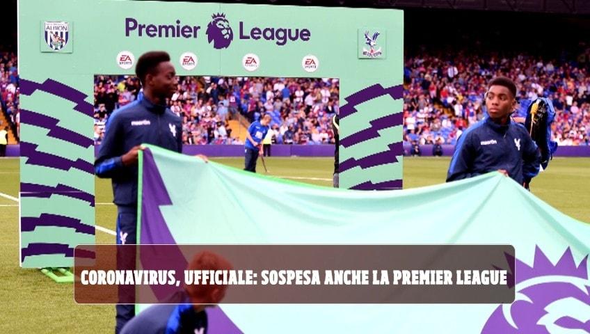 Coronavirus, ufficiale: sospesa anche la Premier League