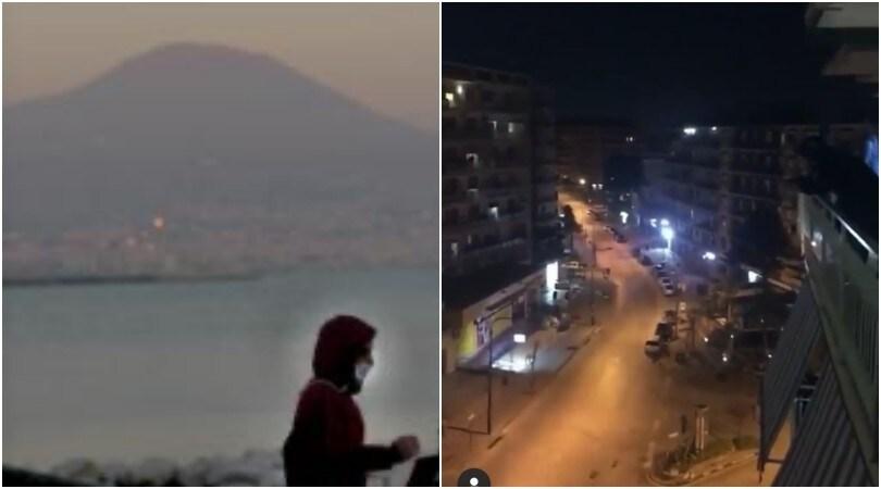 """Napoli, il popolo azzurro si unisce: """"La gente come noi non molla mai"""""""