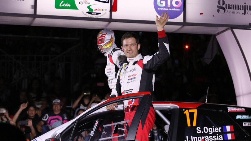 Rally, Ogier vince in Messico: