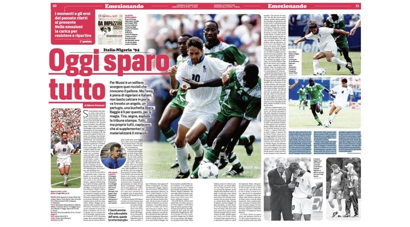 Italia-Nigeria, oggi sparo tutto