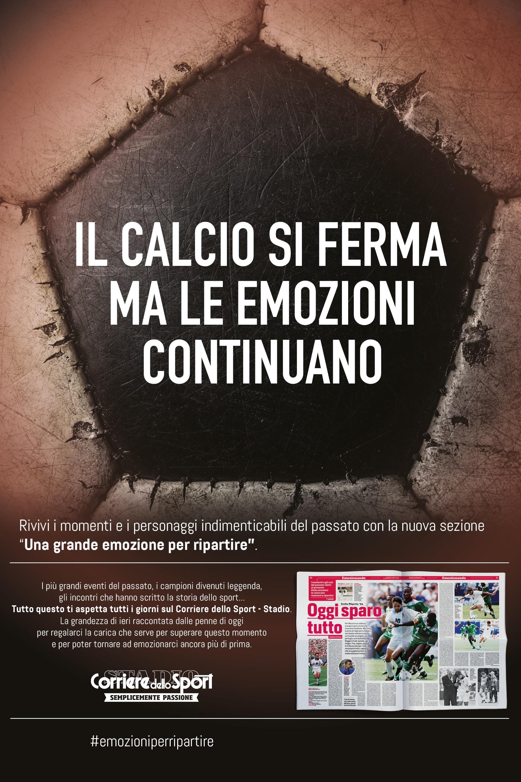 Il calcio si ferma ma le emozioni continuano: Roberto Baggio
