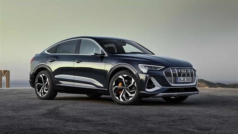 Audi e-tron Sportback Edition one, SUV elettrico speciale