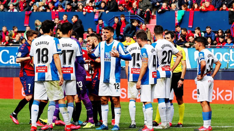 Liga, l'Espanyol dichiara sei casi di Coronavirus