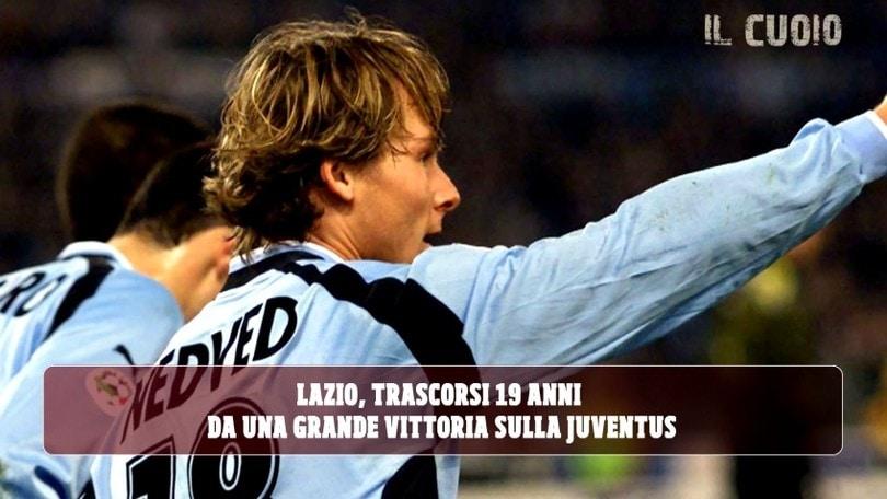 18 marzo 2001, Lazio show: Nedved e Crespo stendono la Juve
