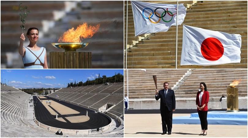 Coronavirus e Olimpiadi, fiaccola a Atene: scenario surreale