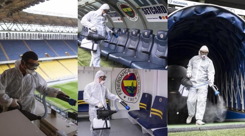 Coronavirus, in Turchia disinfettano gli stadi!