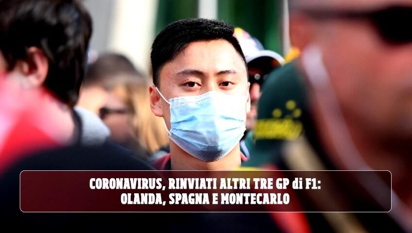 Coronavirus, rinviati altri tre GP di F1: Olanda, Spagna e Montecarlo