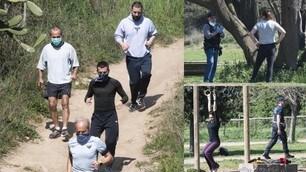 Coronavirus, a Roma tra sport e passeggiate ignorando i divieti