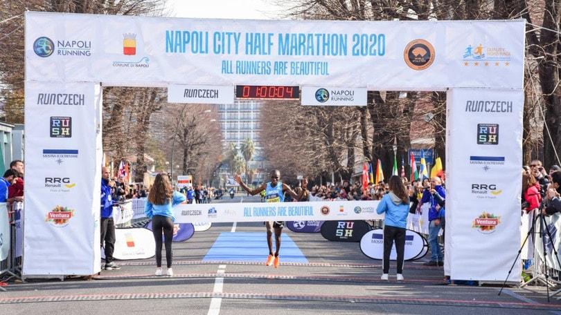 Napoli City Half Marathon 2020: più di 500 milioni di telespettatori nel mondo