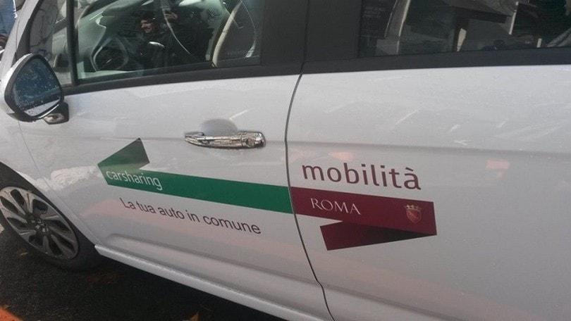 Coronavirus Roma, 100 auto car sharing per medici e infiermieri