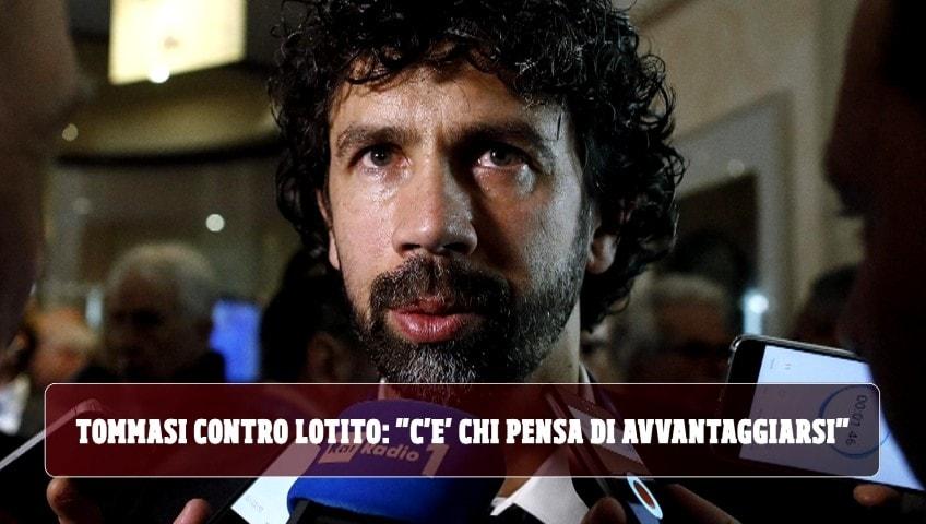"""Tommasi contro Lotito: """"C'è chi pensa di avvantaggiarsi"""""""