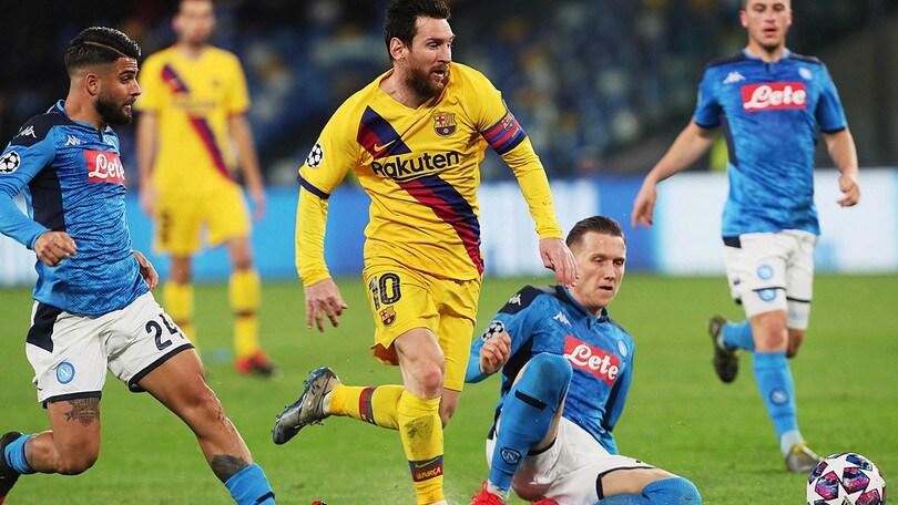 Barcellona-Napoli, rimborso biglietti: si può chiedere fino al 3 aprile
