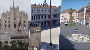Italia deserta: ecco la situazione nelle principali città italiane