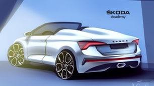 Skoda Scala Speedster concept: le immagini