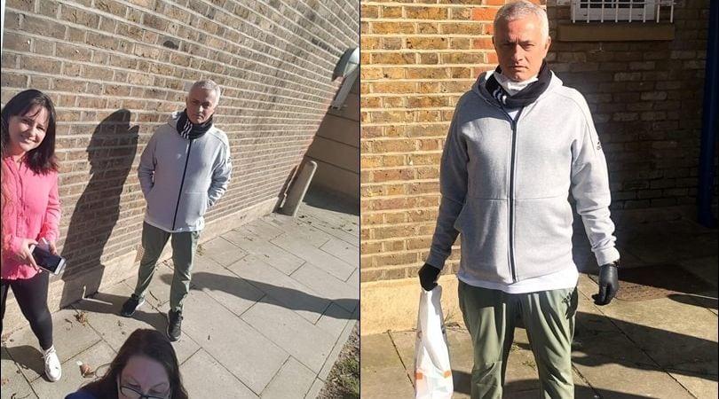 Mourinho, che gesto: consegna la spesa agli anziani