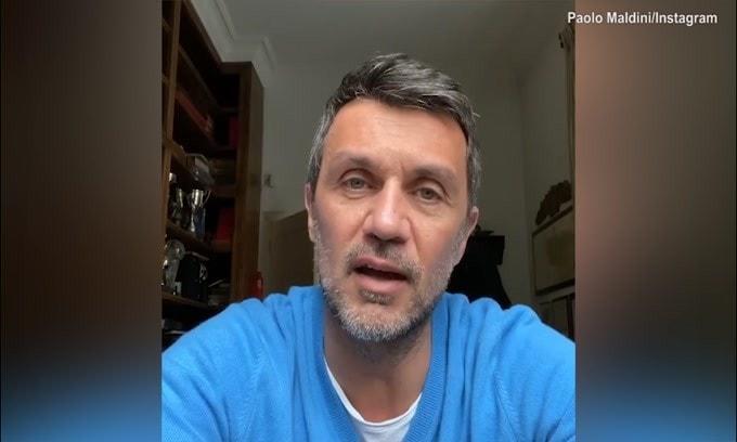"""Paolo Maldini: """"Io e mio figlio stiamo bene"""""""