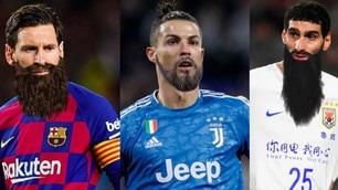 Da Messi a Ronaldo, i calciatori con la barba dopo la quarantena...