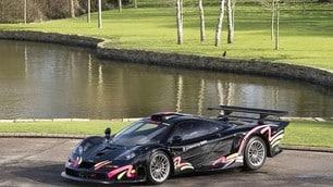 McLaren F1 GTR Longtail, ecco le FOTO