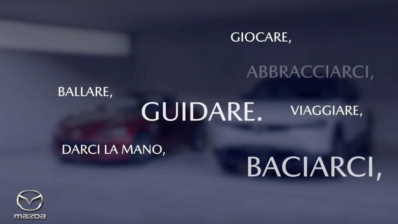 Mazda, messaggio di speranza sui social