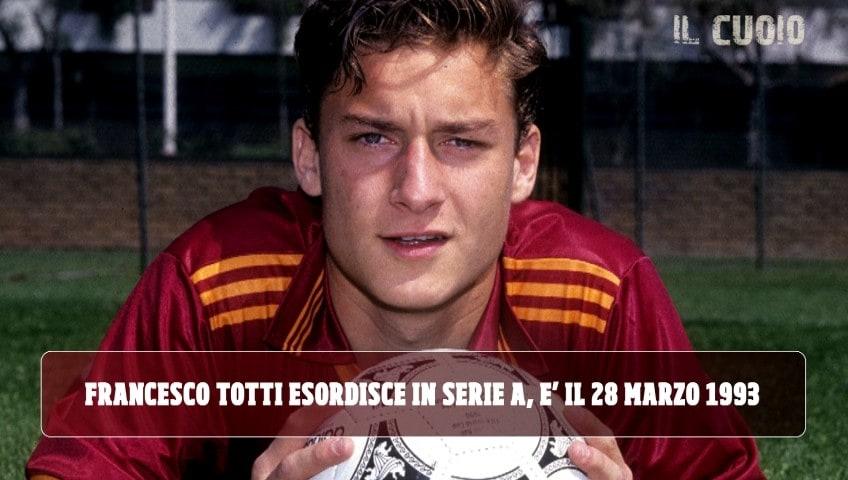 Totti, 27 anni fa l'esordio in Serie A contro il Brescia