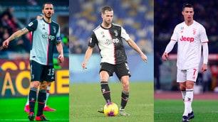Juve, i fedelissimi di Sarri: la top10 dei più presenti in campionato