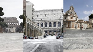 Coronavirus, Roma: altra domenica con le strade deserte
